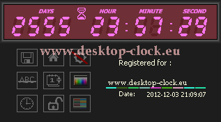 after registration digital desktop clock and timer
